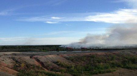 В Инте из-за пожаров введен режим ЧС